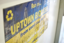 uptown oils sticker