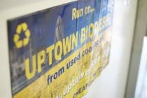 uptown oils sticker